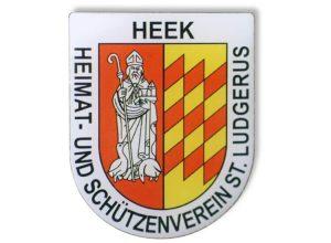 Pin bedruckt - Heek Schützenverein