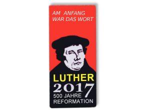 Pin bedruckt - Luther
