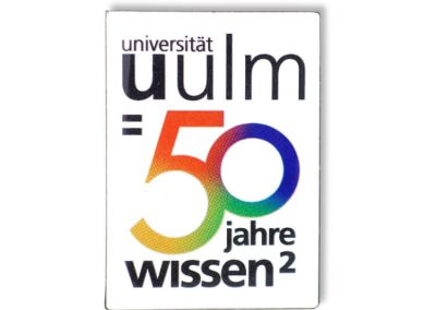 Pin bedruckt - Universität Ulm
