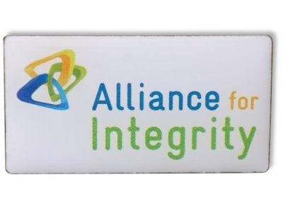 Pin bedruckt - Alliance