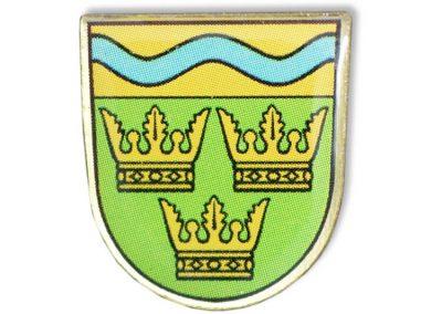Pin bedruckt - Krone