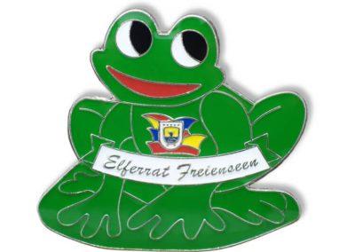 Pin geprägt - Frosch