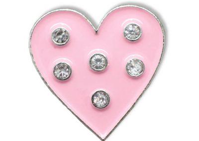 Pin geprägt - Herz