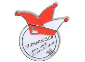 Pin geprägt - Stammdesch