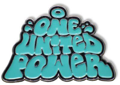 Pin geprägt - United Power